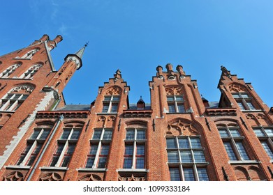 City center of Bruges - Belgium