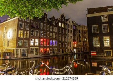 City centre of Amsterdam, North Holland, the Netherlands