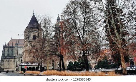 City centre in Kosice, Slovakia