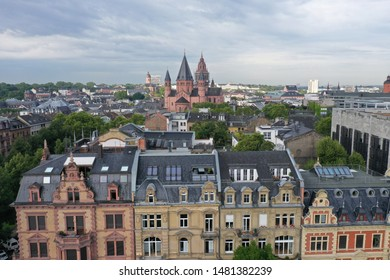 city centre of mainz in germany