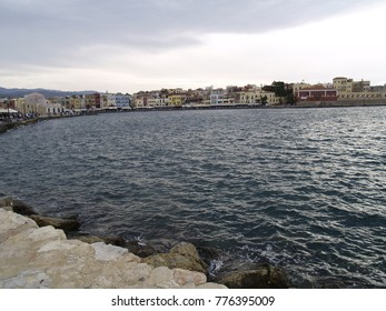 the city of Chania, Greece