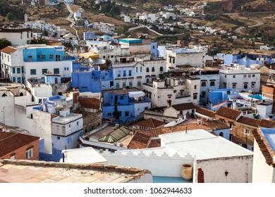 city chefchaouen marocco