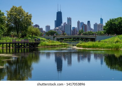 City of Chicago in USA