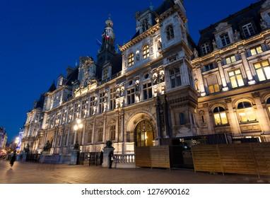 City council of Paris, France