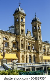 City Council in San Sebastian, Spain. Its premises are located in the former casino of the city, built up in 1887, next to the Bay of La Concha