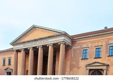City Court of Copenhagen with Architectural Columns