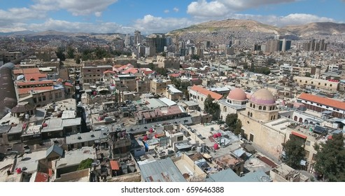 the city of damascus in Syria