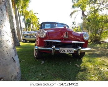 City of Águas de Lindóia in the State of São Paulo, Brazil taken on 06/24/2019 6th Meeting of Ancient Cars, with beautiful classics of various brands and styles, studebaker car