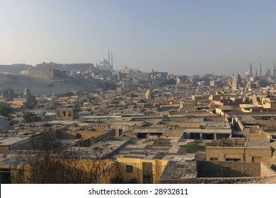 City of the Dead in Cairo Egypt