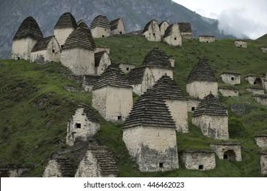 City of the dead. Dargavs.North Ossetia. Russia.
