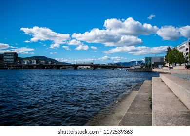 In the city (Drammen, Norway)