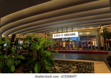 The City of Dreams Manila (hotel, casino, and shopping complex) on Feb 18, 2017 in Philippines