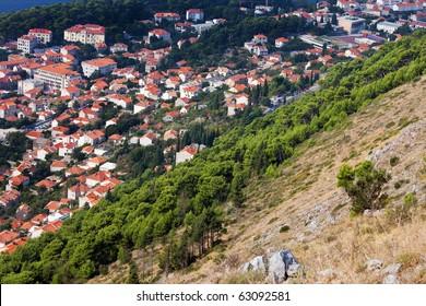 City of Dubrovnik in Croatia