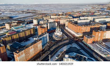 City in the far north, Norilsk.