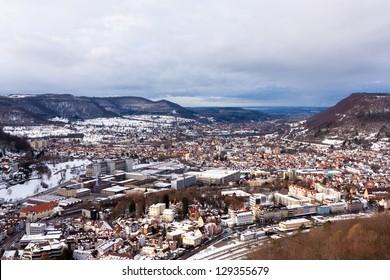 City of Geislingen  Germany.