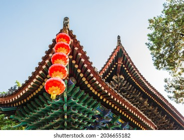 City God Temple of Taoist architecture in the Ming and Qing dynasties in the center of Xi'an, Shaanxi, China
