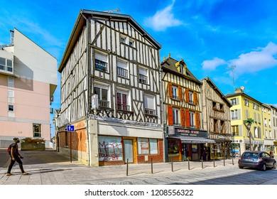 Châlons-en-Champagne,FRANCE-SEPTEMBER 05,2018:Châlons-en-Champagne is a city in the Grand Est region of France.