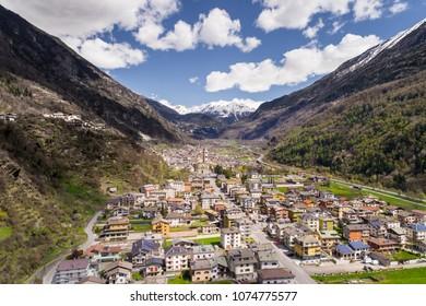 City of Grosio, Valtellina Valley