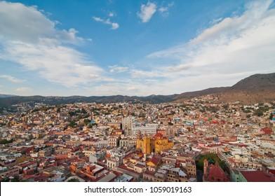 City of Guanajuato. Mexico