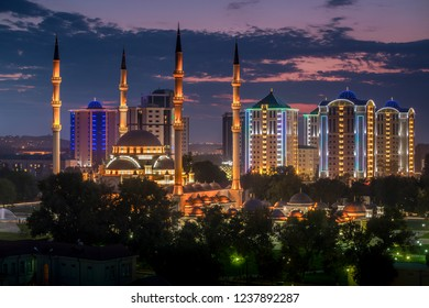 City Gudermes in Chechnya