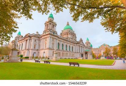 City Hall of Belfast - Northern Ireland, United Kingdom