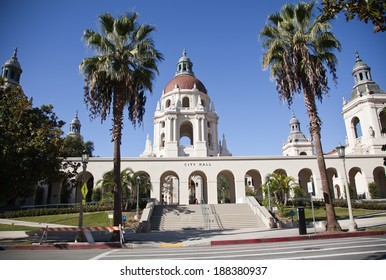 City hall of the Beverly Hills, Ca