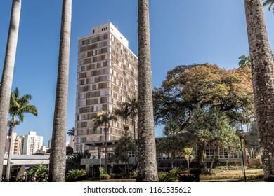 City Hall building (Jequitibas Palace) at Campinas, SP/ Brazil