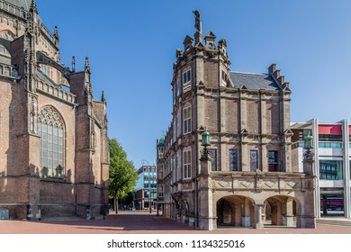 City hall called Devils house or Maarten van Rossum house  in Arnhem the Netherlands
