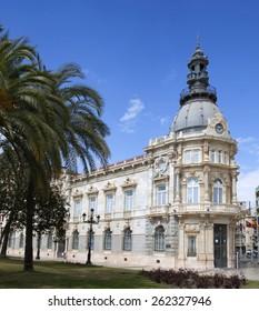 The city hall of Cartagena