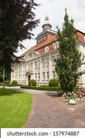 City hall of Cloppenburg in Munsterland, Germany