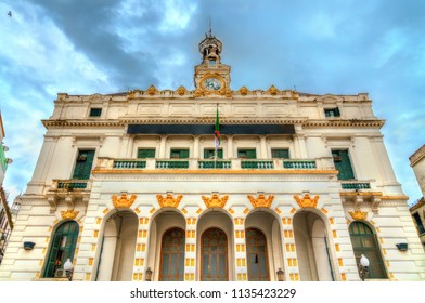 City hall of Constantine, a French colonial bulding in Algeria