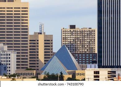 City Hall in Edmonton. Edmonton, Alberta, Canada.