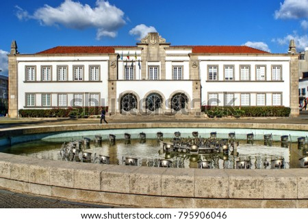 City Hall of Espinho, Portugal