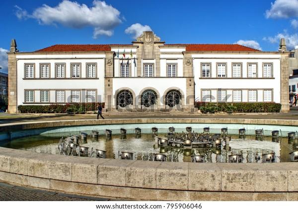 City Hall of Espinho, Portugal