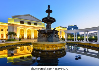 City Hall  is the famous of exhibition and convention hall of Phnom Penh.