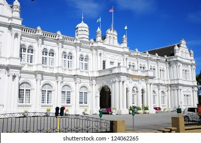 City Hall in George Town - Penang, Malaysia