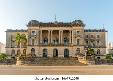 City Hall on Independence Square, Maputo, capital city of Mozambique