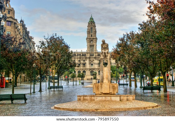 City Hall of Oporto, Portugal