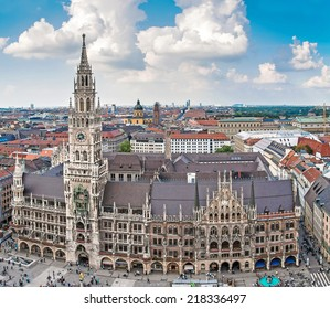 City hall (Rathaus) in Munich, Bayern, Germany