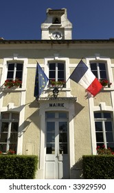 city hall of a small village in France