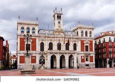 City Hall of Valladolid, Castilla y Leon, Spain.