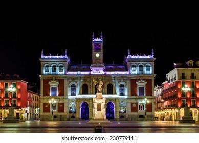 City hall of Valladolid, Spain