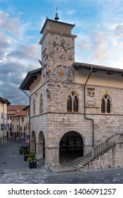 City Hall of Venzone, Northern Italy.