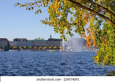 city of Hamburg (Binnenalster)