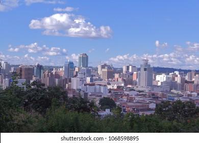 The City of Harare Zimbabwe