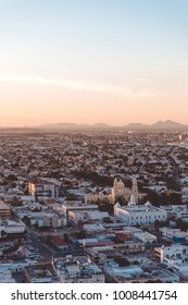 City of Hermosillo Sonora view on sunset