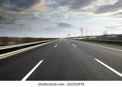 city Highway background