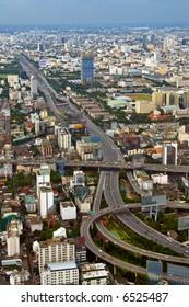 City Highway View in Bangkok