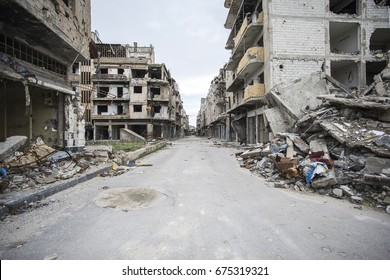 City of Homs in Syria