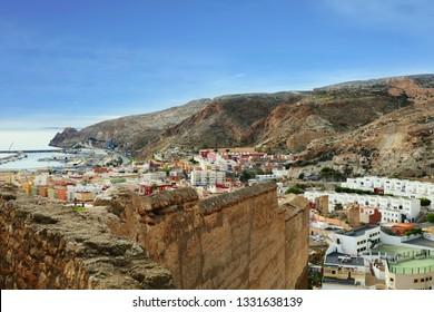 city impressions of Almería, Spain